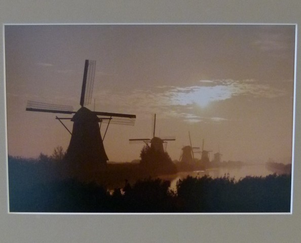 3e Prijs Landschappen / Kinderdijk / Tini van Overveld